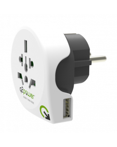 Q2Power World to Europe USB