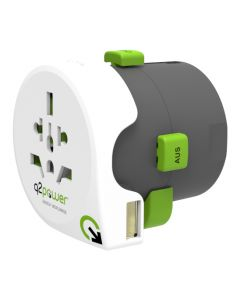 Q2Power QDAPTER World to World USB