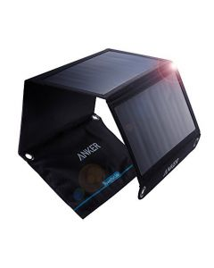 Anker PowerPort Solar 21W 2-port charger, Black