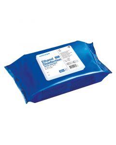 Wet Wipe 70% ethanol mini, 25 stk