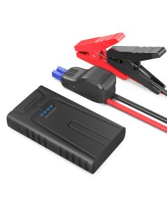 RAVPower 10000 mAh powerbank og 400A Car jump starter, Black