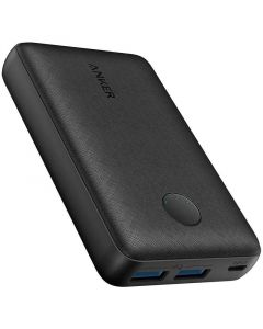 Anker PowerCore Select 2-port 10.000 mAh Powerbank, Sort