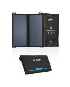 Anker PowerPort Solar 15W - Sort EOL)
