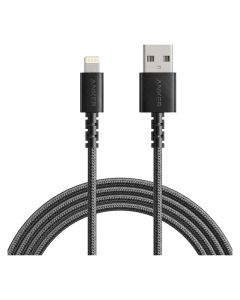 Anker PowerLine Select+ 1,8m USB-A til Lightning Kabel, Sort