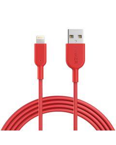 Anker Powerline II lightning Connector 1,8m Red