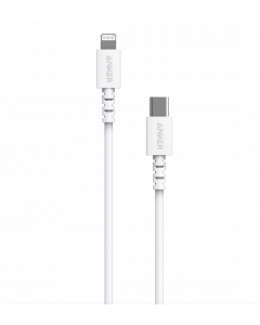 Anker PowerLine USB-C to Lightning cable 1,8m White