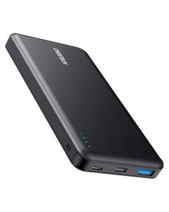 Choetech 10.000 mAh 18W USB-C PD & Quick Charge Powerbank, Sort