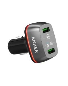 Anker PowerDrive+ 2 Quick Charge 3.0, Black