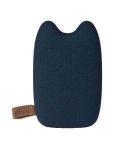 GreyLime Power Owl, 5200 mAh powerbank, Mørkeblå