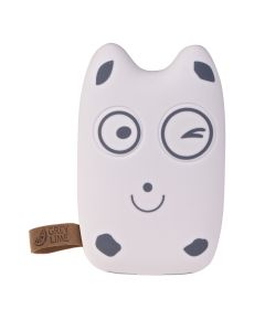 GreyLime Power Owl, 7800 mAh powerbank, Happy Face