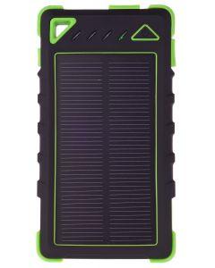 GreyLime Power Solar, 8000 mAh powerbank, 1,2W solcelle oplader, Grøn