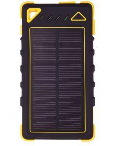 GreyLime Power Solar, 8000 mAh powerbank, 1,2W solcelle oplader, Gul