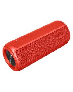 Forever Toob 20 20W Vandtæt Bluetooth Højtaler, Rød