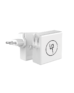 LIFEPOWR 65W USB-C og quick charge 3.0 vægoplader