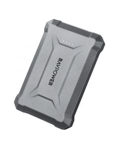 RAVPower Rugged Pioneer 10050 mAh USB-C PD & QC 18W, Grå