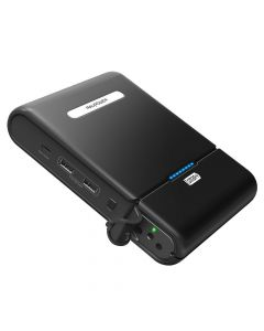 RAVPower Xtreme, 27000 mAh powerbank, 220V AC & USB-C output, Sort