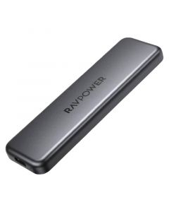 RAVPower 500 GB Portable SSD, Black