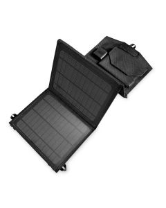 Celly 10W 2-port Solcellepanel, Sort