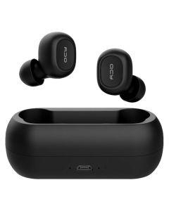 QCY T1C IPX4 Vandafvisende In-Ear Earbuds, Sort