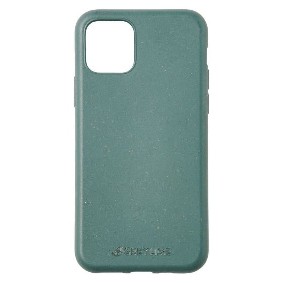 GreyLime iPhone 11 Pro Max biodegradable cover - Dark Green