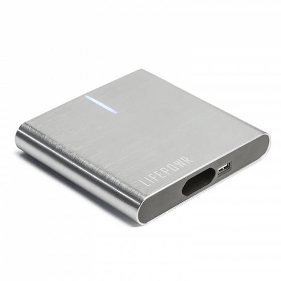 LIFEPOWR A2 27000 mAh powerbank med AC output