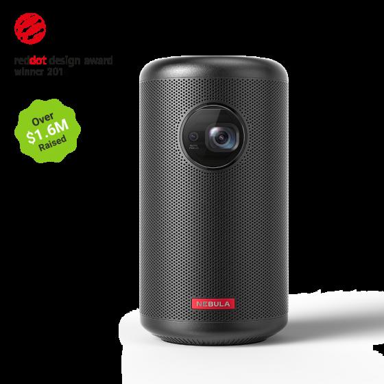Nebula Capsule II 720p mini projector med indbygget højtaler og batteri